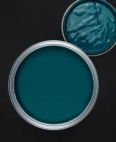 Teal the Show Paint - Gorgeously Deep & Sumptuous Greeny Blue Teal-The-Show-Low-Res Teal Paint Colors, Paint Colors For Home, Wall Colors, House Colors, Living Room Paint Colors, Colours, Teal Rooms, Teal Living Rooms, Living Room Ideas Dark Blue