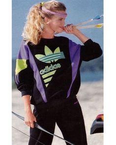 Ultimate Archery Dress Code  #80sfashion #retroadidas #80sadidas…
