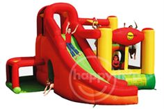 11-IN-1 PLAY CENTRE - 11-in-1 Play Centre will ensure your kids have a blast all day long. This Play Centre offers: jump/bounce, slide,climb, creep, crawl, ball-pit, obstacle, hoop, tunnel, toss and there is more! Let your kids run wild with their imagination and have loads of fun combining the various play elements! Inflated size at 445cm (L) x 385cm (W) x 250cm (H). Visit our website - www.playful-elves.com.sg - for more details.