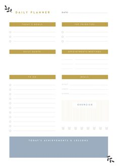 printable planner bundle by the template depot on creativemarket