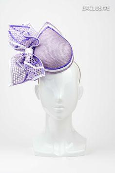 lilac fascinator - Google Search