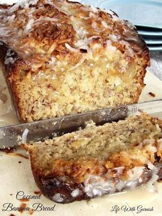 This coconut banana bread recipe is really delicious and so easy to whip up. It's a recipe that the whole family will enjoy.