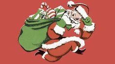 نتيجة بحث الصور عن santa claus putting gifts under tree