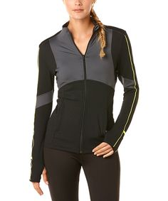 C&C California Caviar Exceed Track Jacket by C&C California #zulily #zulilyfinds