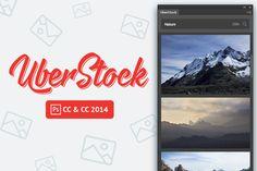 UberStock Photoshop plugin by UberPlugins on Creative Market