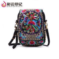 Famous Brand Women Messenger Bag Embroidery Women Shoulder Bag Fashion Mini Bag Bolsas feminina Handbags carteira feminina