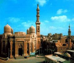El-Mursi Abul Abbas Mosque - Egypt ~ @My Travel Manual