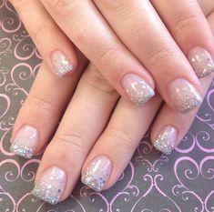 Gel Nails. I like the polish, different shape.