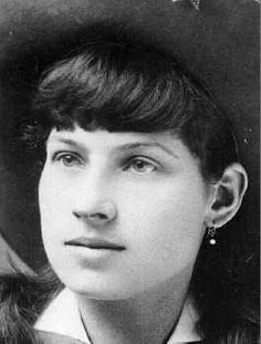 """Annie Oakley was born on August 13, 1860.  She was named Phoebe Ann by her mother, but called Annie by her sisters. She was the toast of Victorian London, New York, and Paris. She was """"adopted"""" by Indian chief Sitting Bull, charmed the Prince of Prussia, and entertained the likes of Oscar Wilde and Queen Victoria. Annie Oakley excelled in a man's world by doing what she loved, and won fame and fortune as the little lady from Ohio who never missed a shot."""
