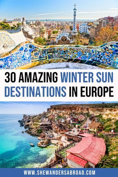 Are you dreaming of warm winter holidays in Europe to escape the cold? Here are the best winter sun destinations in Europe you can't go wrong with! | Where to find winter sun in Europe | Warm winter destinations in Europe | Warm winter holidays in Europe | Best winter sun holiday destinations in Europe | Europe travel tips | Europe in winter | Warm places to travel in winter in Europe | Warm European destinations in winter | Best places to visit in Europe in winter | Winter sun Europe