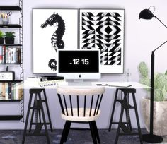 Designer posters 5 at Hvikis via Sims 4 Updates