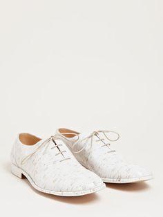 Maison Martin Margiela Mens Vinyl Cork Shoes