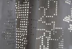 curtain by creation Baumann Epunto -lasercut