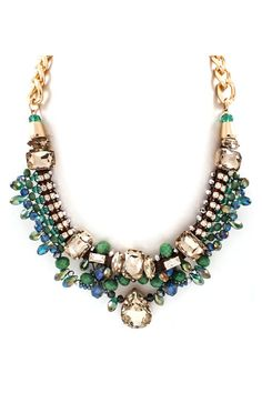 Sabina Necklace in Emerald