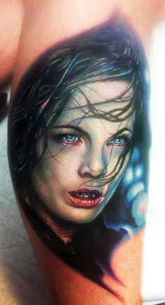 Tattoo Artist - Paul Acker #tattoos #tattoo #ink #portrait