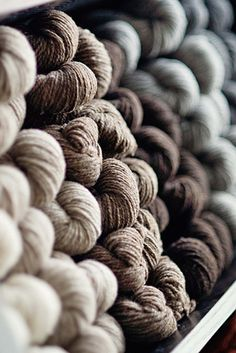 Welcoming Shelter - Brooklyn Tweed's Beautiful NewYarn - Knitting Crochet Sewing Crafts Patterns and Ideas! - the purl bee