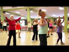 #Zumba Gold is a fun workout for seniors as it slows down the moves but keeps the energy high