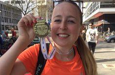Na maandenlang trainen was het zondag dan eindelijk zover: Eleni liep voor het eerst de NN Marathon Rotterdam en vond het fantastisch. Lees je mee?