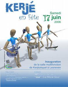 Affiche réalisée pour la Mairie de Lesneven par christophe@rohou.fr (www.christophe.rohou.fr)