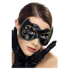 Persian Eyemask - Black and Gold: Amazon.co.uk: Toys & Games