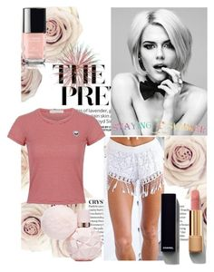 """46 stayingsummer"" by mersudin-becirovic-1 ❤ liked on Polyvore featuring Chanel"
