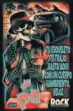 Rock And Roll, San, Sugar Skulls, Poster, Love, Song Quotes, Rock Roll, Sugar Skull, Rock N Roll