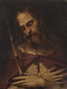 Bartolomeo Passarotti (1529-1592), Ecce Homo, Oil on canvas, 61.5x51 cm