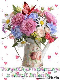 Happy Birthday Illustration, Vote Sticker, Dachshund, Glass Vase, Floral Wreath, Good To Know, Matki, Lifestyle, Garden