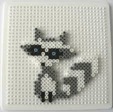 Afbeeldingsresultaat voor hama perler nabbi fuse beads raccoon