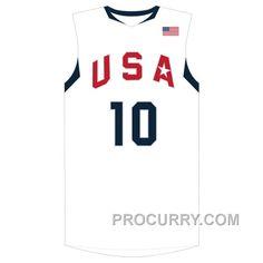 Kobe Bryant  10 2008 USA Redeem Team Home White Jersey c81d5b26d
