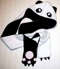Panda Scoodie. $27.00, via Etsy.