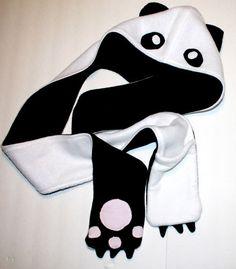 Panda Scoodie. $27.00, via Etsy.
