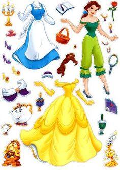 CREOFACILE: Le bambole di carta da vestire... GRATIS