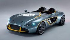 Aston Martin CC100 Speedster Concept - Автоновинки - События - Cardesign.ru