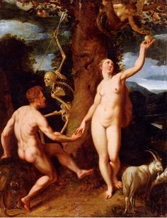 Cornelisz, The Fall of Man. | Because there is no greater sin to the Christian god than the pursuit of knowledge.