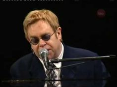 Elton John - Your Song (Live) . My most favourite song ever <3