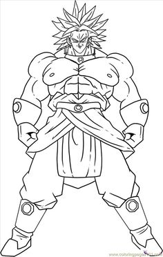 Plain Dragon Ball Z Goku Vs Vegeta Coloring Pages Follows