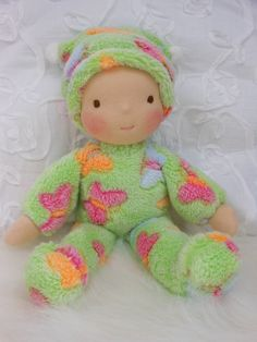 Baby's First Waldorf Doll by Jemilynndolls Ready by jemilynndolls