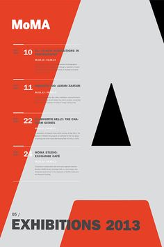 MoMA Exhibit Poster Series - Rebecca Nolte #poster