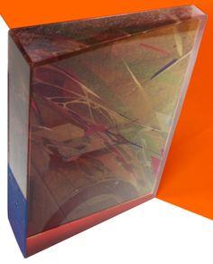 MICROCRYSTAL V ENAMEL AND DIGITAL PRINT ON LEAD CRYSTAL 2015
