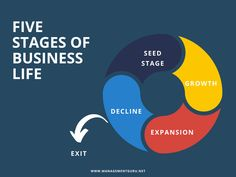 Five stages of business life