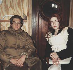 "80ꜱ, 90ꜱ, 00ꜱ… on Instagram: ""Leonardo DiCaprio and Kate Winslet behind the scenes of Titanic, 1997."""