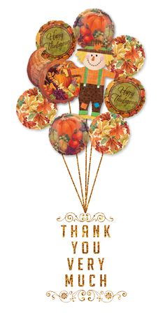 Thanksgiving Balloons @Bring A Balloon #AnagramBalloons