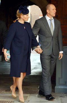 Godmother to Prince George of Cambridge - Zara Phillips