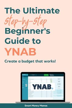 This guide to YNAB will walk you through step-by-step how to get started and create your first budget in a few easy steps. Budgeting Tools, Budgeting System, Budgeting Worksheets, Budgeting Finances, Financial Apps, Saving For Retirement, Managing Your Money, Money Matters, Budget App