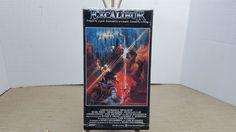 Excalibur (VHS, 1981) tape