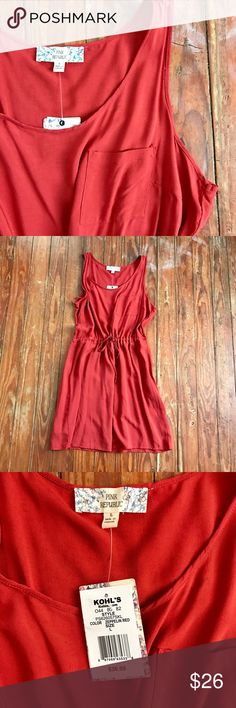 🎀NWT🎀 Pink Republic Brick Red Dress L 💗💗Thank you for looking at my listing!! This listing is for a Pink Republic Rust/Brick Red Dress size Large (juniors), this dress is NWT and in perfect condition! If you have any questions about this listing feel free to leave me a comment! 💗💗 🚫NO TRADING/I WILL NEGOTIATE ALL OFFERS Pink Republic  Dresses Mini