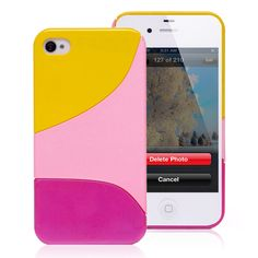 Tricolor iPhone 4 &amp. 4S Hard Case « Holiday Adds