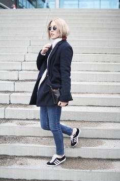 Adidas Gazelle Grau Outfit