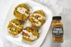 Turmeric Chickpea + Cauliflower Falafel